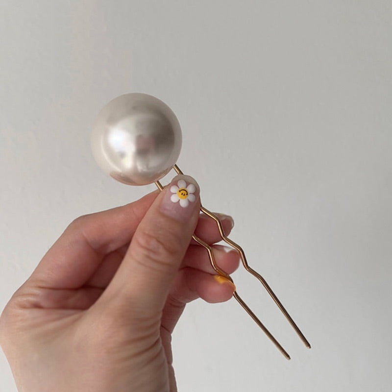 Pearl Hair Chopsticks