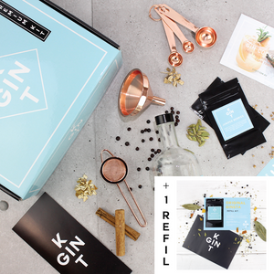 ARTISAN GIN MAKING KIT (BONUS BUNDLE - ORIGINAL GINSTA)