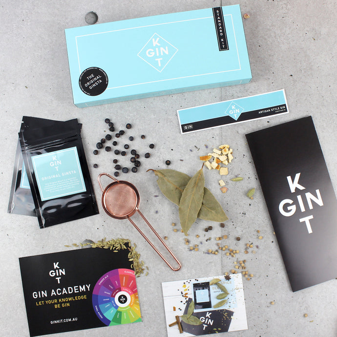 STANDARD - ARTISAN GIN MAKING KIT - ORIGINAL GINSTA EDITION