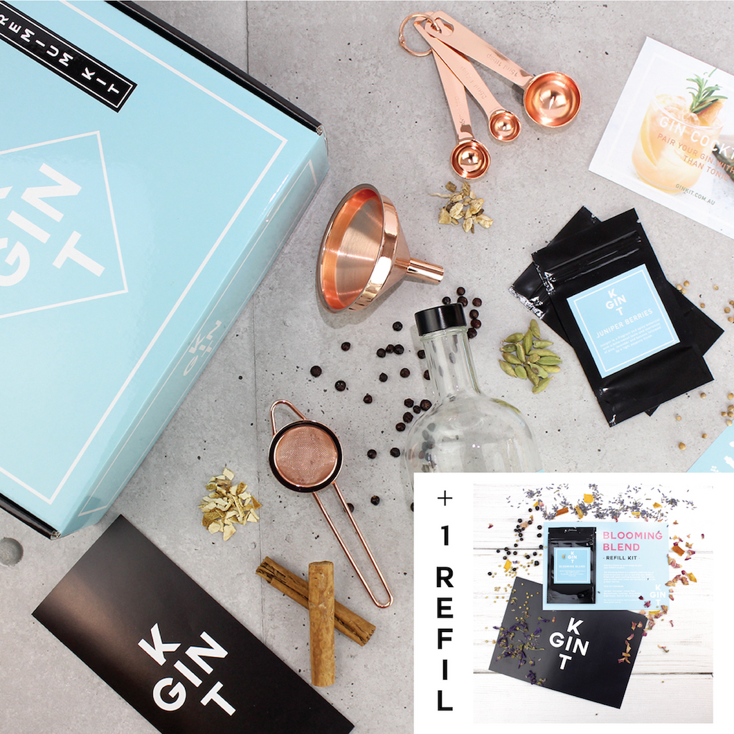 ARTISAN GIN MAKING KIT (BONUS BUNDLE - BLOOMING)