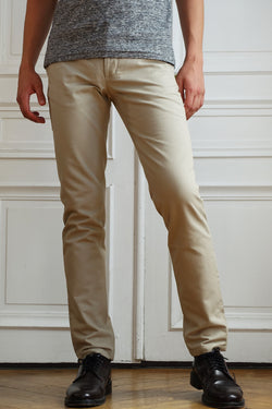 Chino Twill sable - Benjamin Jezequel Paris