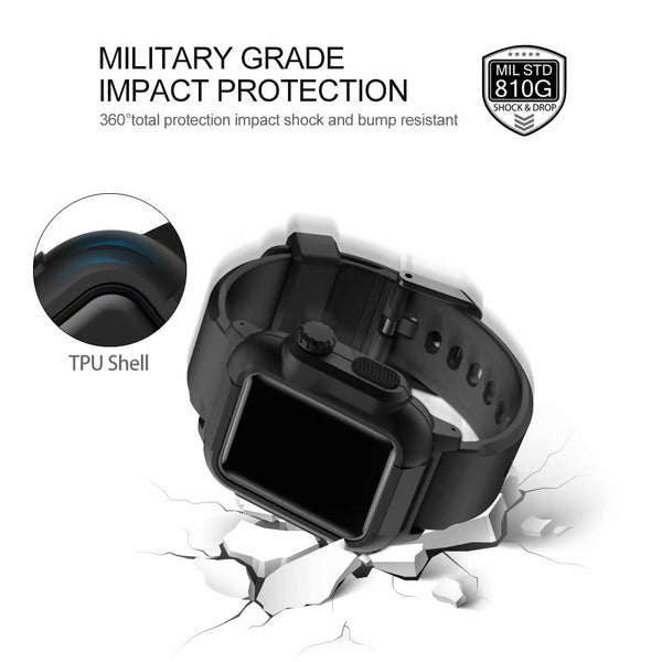 promo code 0e0b2 86127 HULK - Rugged Protective Case, Drop Proof Shock Proof Impact Resistant  Apple Watch Case