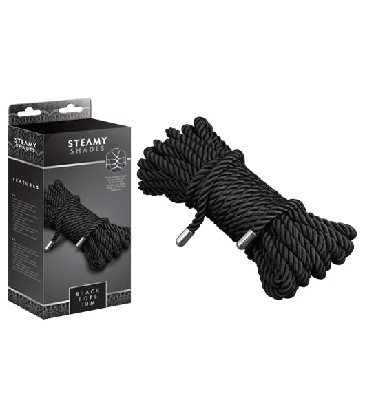Black Rope Restraints – Steamy Shades