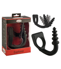 Explorer Penis Ring and Vibrating Anal Plug – Malesation