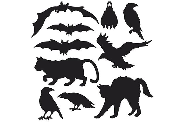 Cut-Outs Halloween Silhouettes