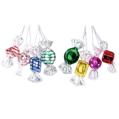 Wrapped Bonbons Ornaments