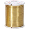 Beading Wire 28 Gauge Gold