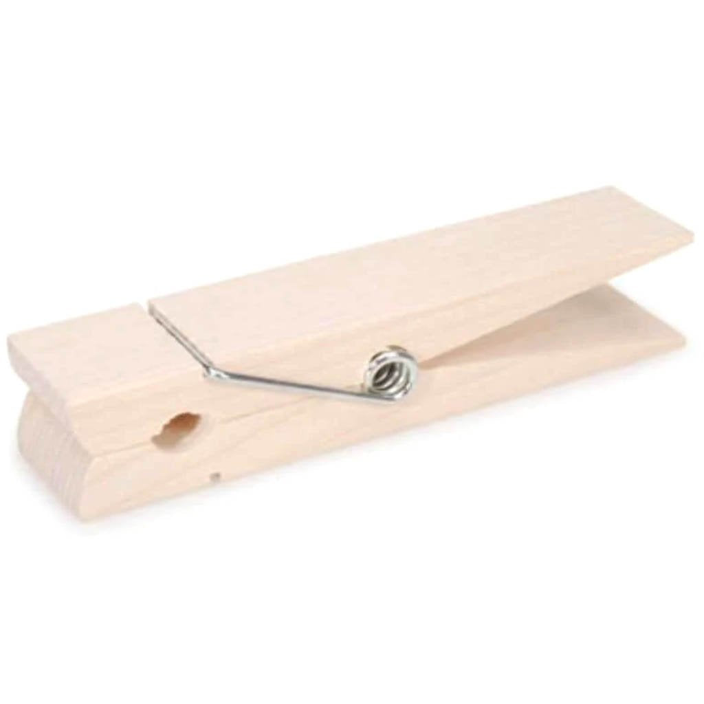 Clothespin Spring Natural Jumbo 6 inches