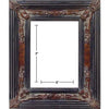 BURL/ BLACK PICTURE FRAMES 5in x 7in