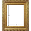 GOLD CLASSIC NO LINER PICTURE FRAMES 8in x 10in