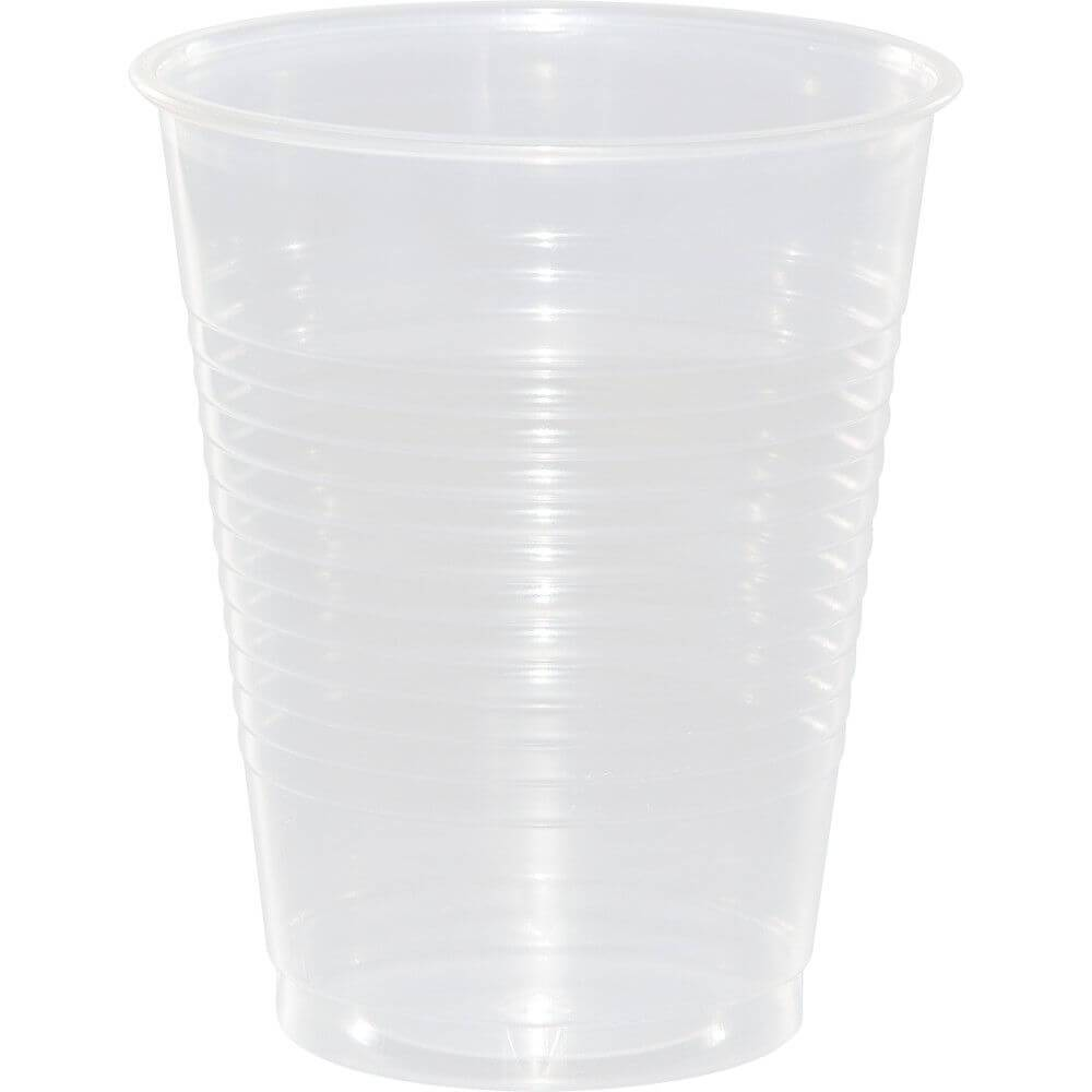 Plastic Cups 16oz 20ct, Clear