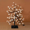 Lighted Cherry Tree Black Branch 96 LED Lights 24 inches