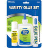 Assorted Glue Set Pack of 3