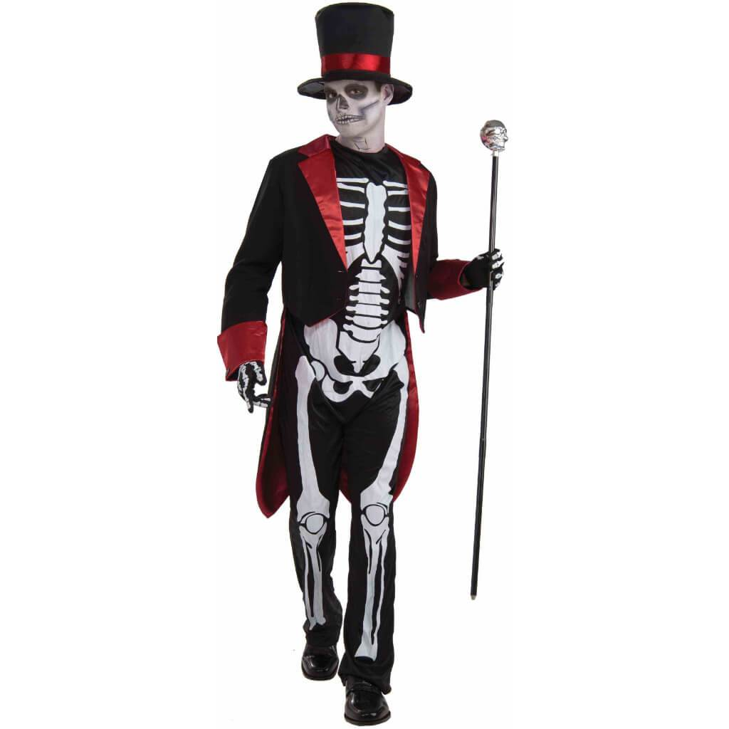 Mr. Bone Jangles Skeleton Costume