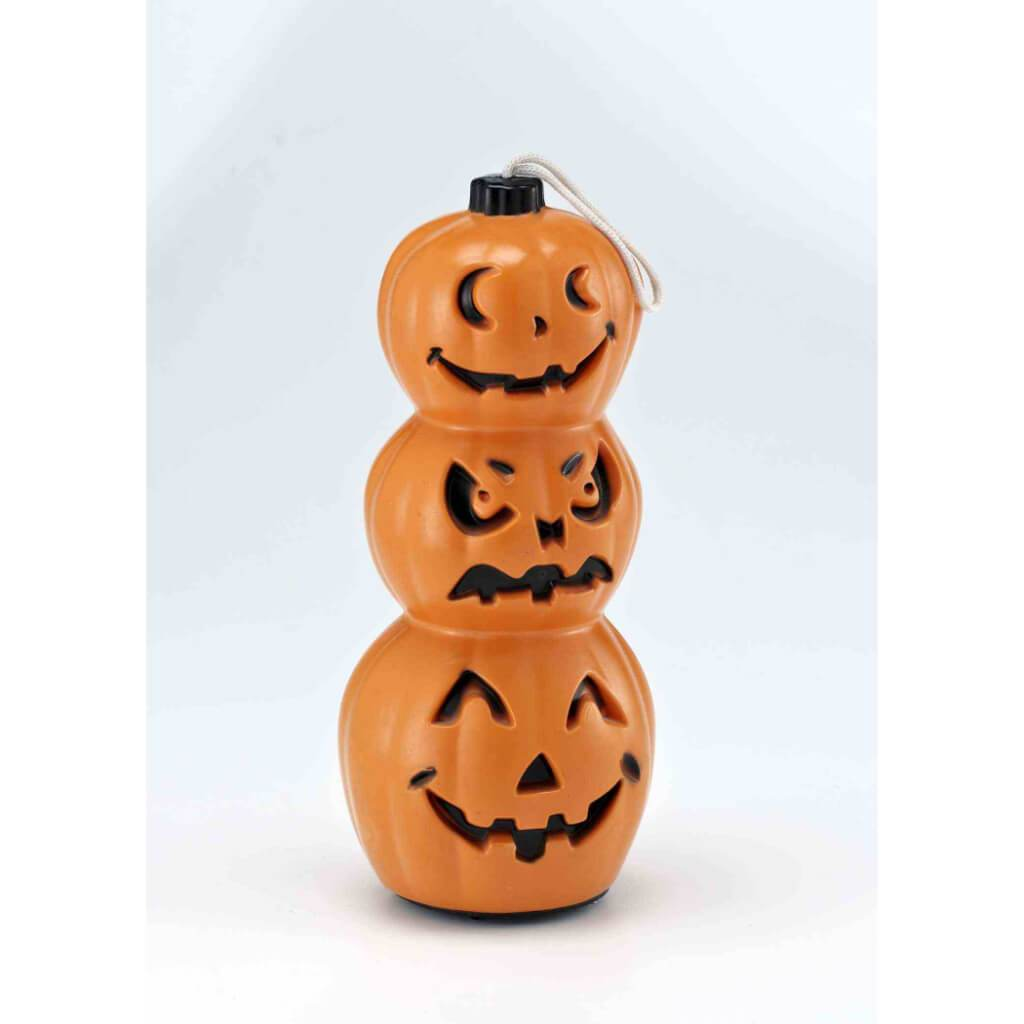 3 Tiered Jack-O-Lantern Pumpkin Light Up