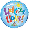 Welcome Home Round Foil Balloon 18in