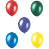 Assorted Colors Pearlized Latex Balloons 12in, 8ct