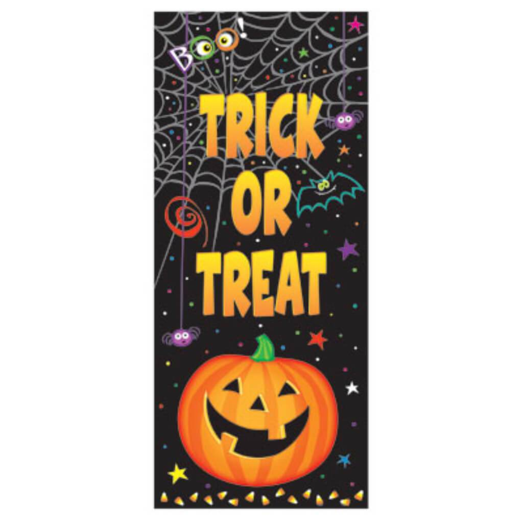 Door Poster 27in x 60in, Pumpkin Pals