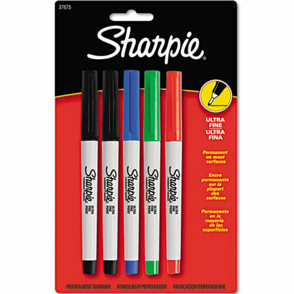Markers 5-Color Ultra-Fine Point Set