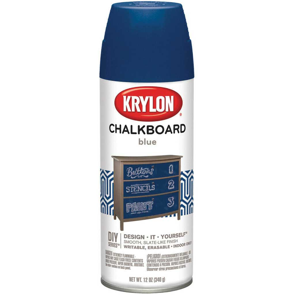 Chalkboard Aerosol Spray 12oz Blue