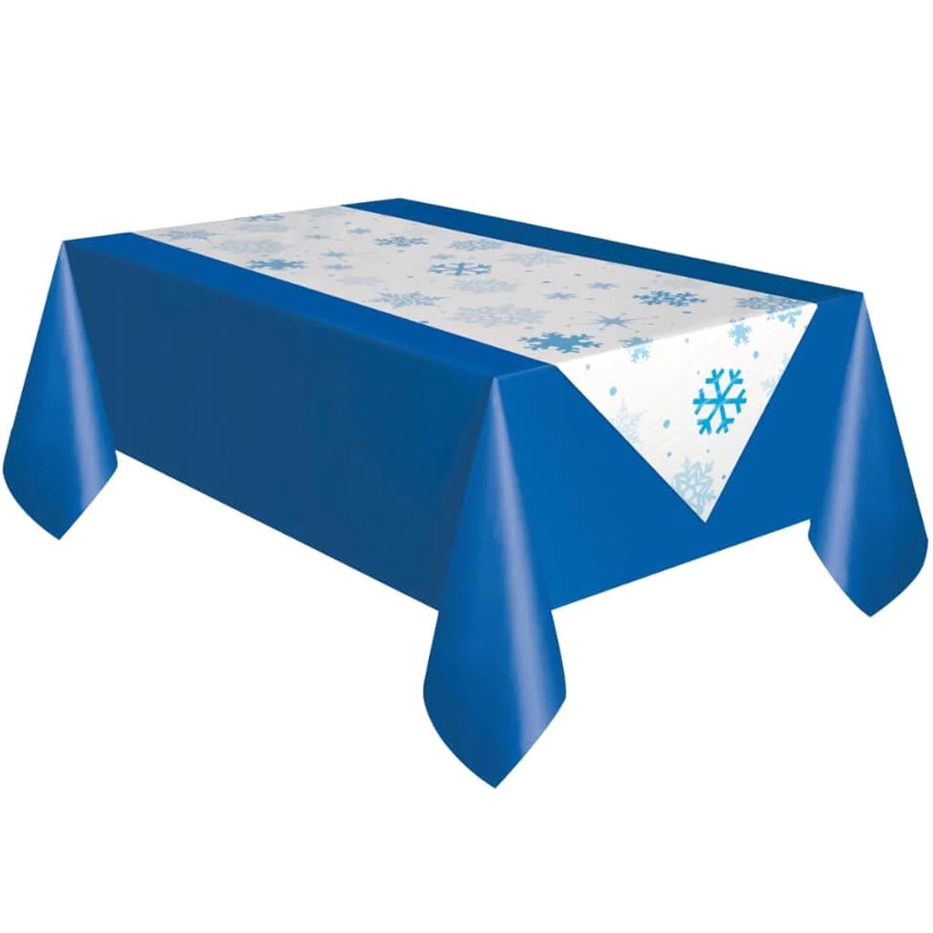 Snowflake Table Runner 88inx18in