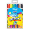 10 Color Double-Tip Washable Marker
