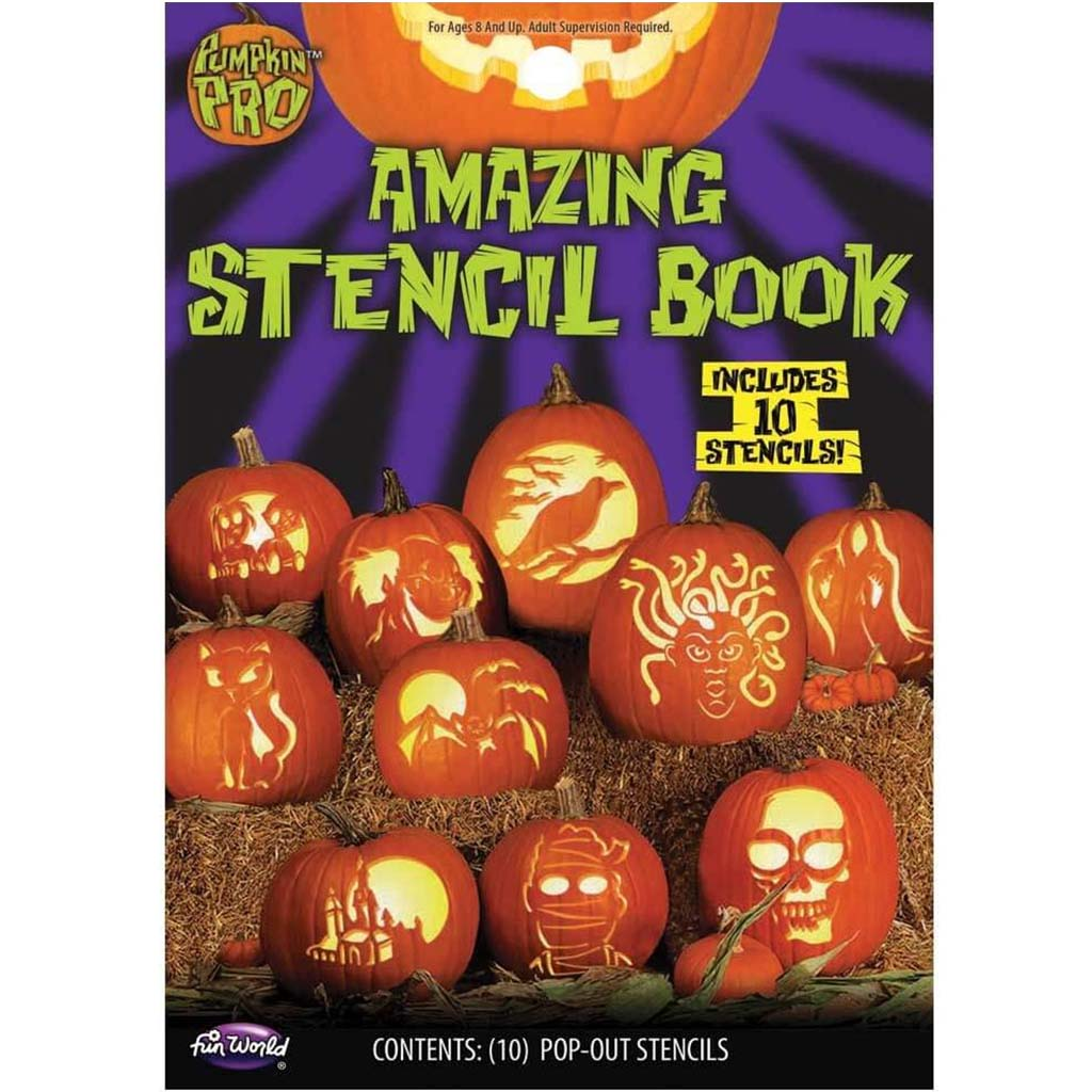 Amazing Stencil Book 10pc