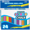 Dustless Assorted Color Chalk