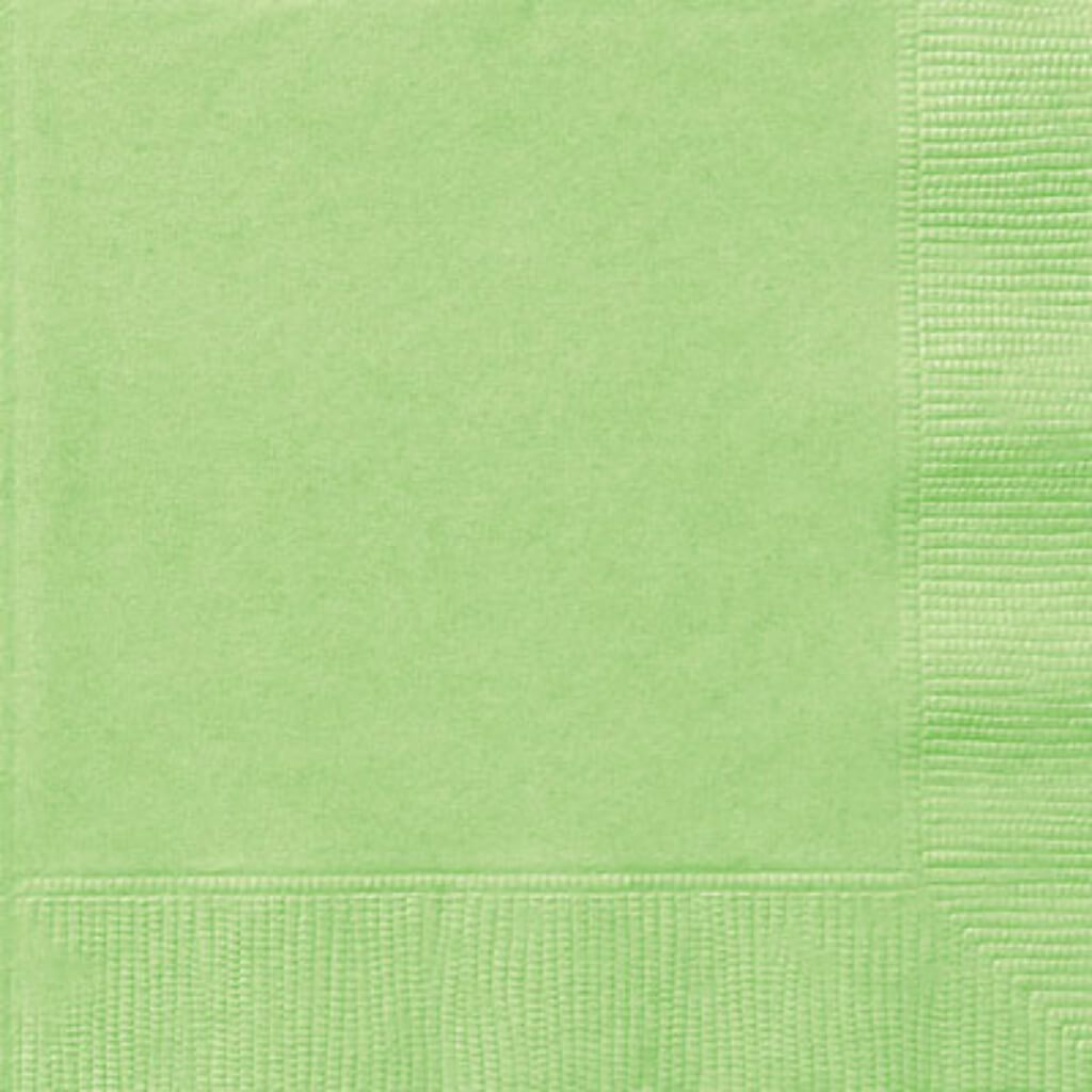 Apple Green Solid Lunch Napkins, 20ct