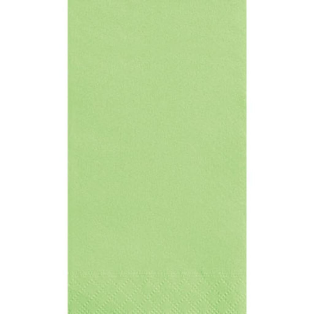 Apple Green Solid Guest Towels 20ct,
