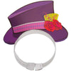 Mad Hatter Tea Party Top Hat Tiaras, 4ct