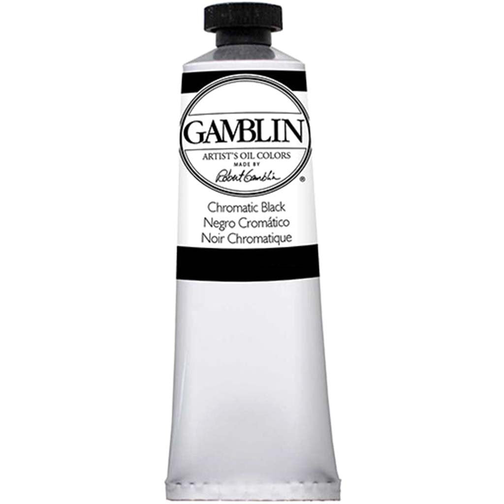 Gamblin Artist's Oil Colors Chromatic Black 15ml