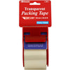 "Clear Packing Tape W/ Dispensr 1.89"" X 800"""