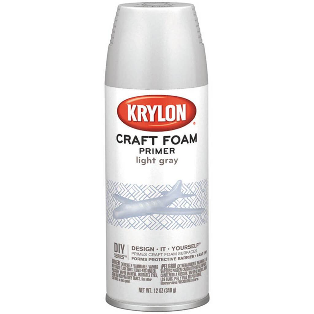 Craft Foam Primer 12oz Light Gray