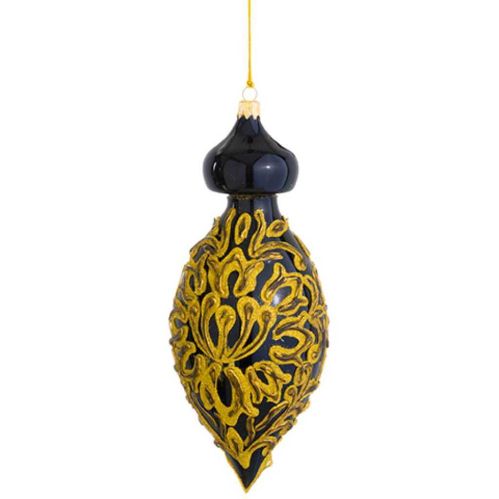Florentine Glass Finial Ornament