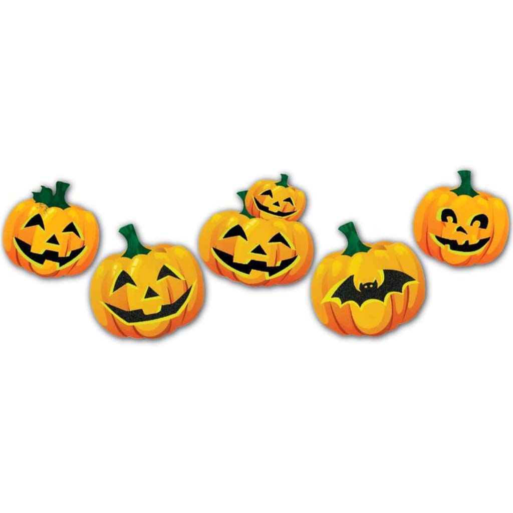 Cut Outs Pumpkin Set