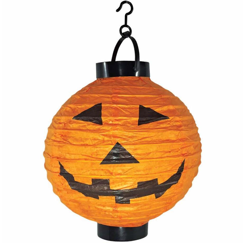 Paper Lantern Light Up Pumpkin