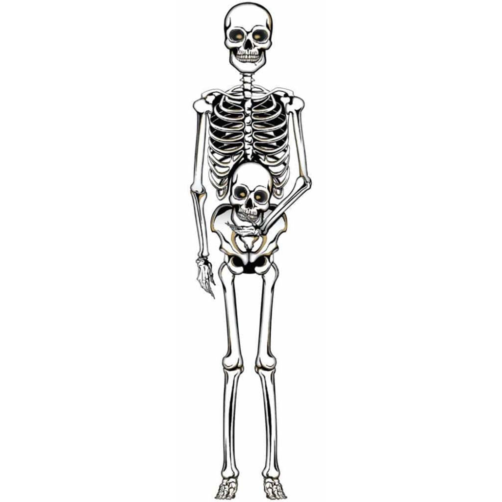 Cut Outs Skelton 60in