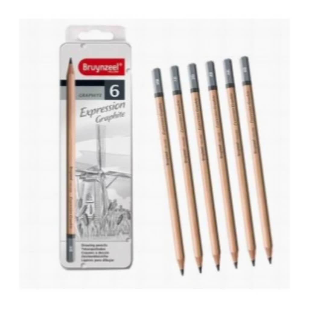 Bruynzeel Expression Graphite Pencil Sets