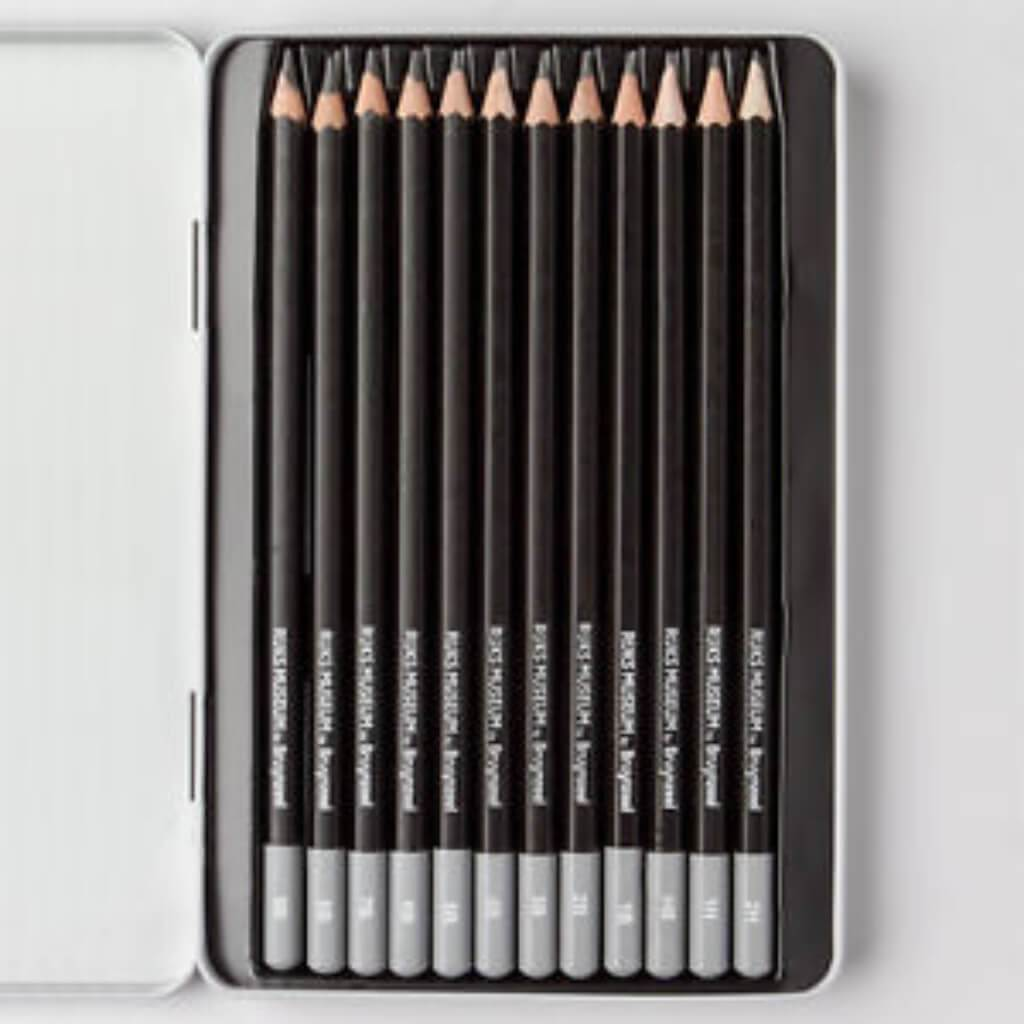 Graphite Pencil Dutch Master 12pc