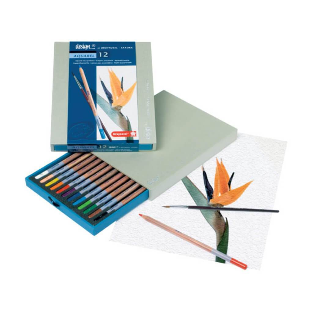 Design Aquarel Pencil Box Sets