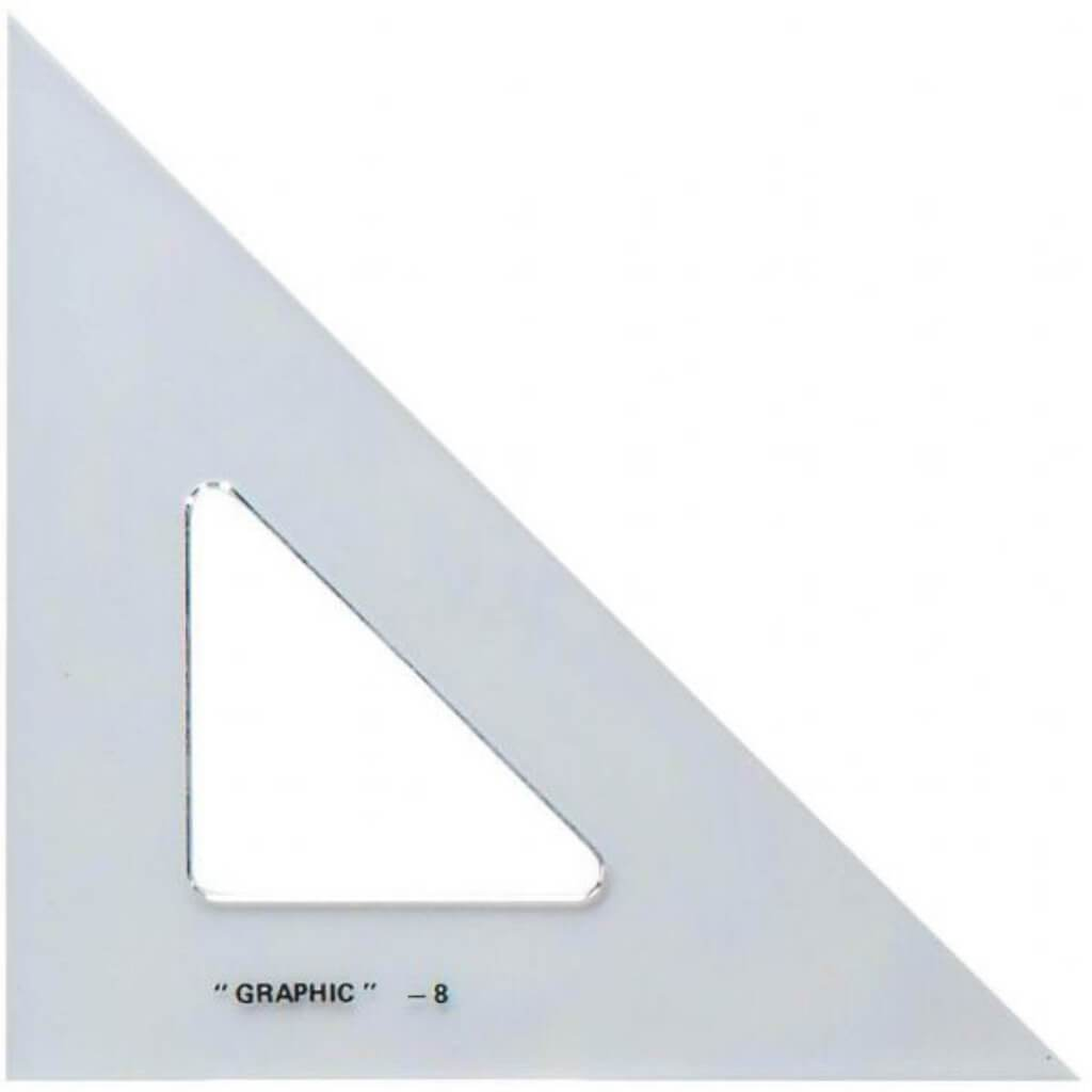 Academic Transparent Triangle