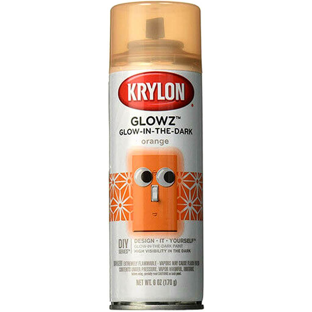 Krylon Glowz Glow In The Dark Paint 6oz