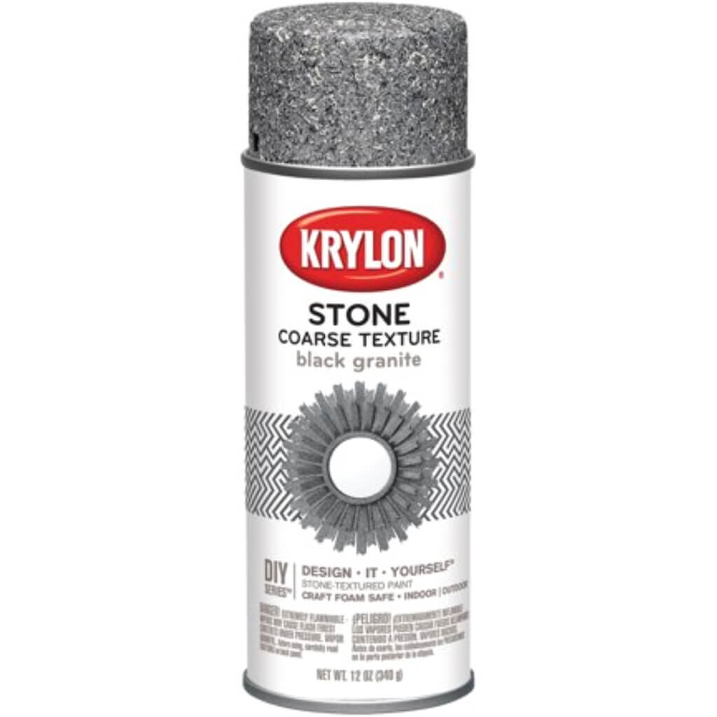 Krylon Coarse Stone Aerosol Spray 12oz