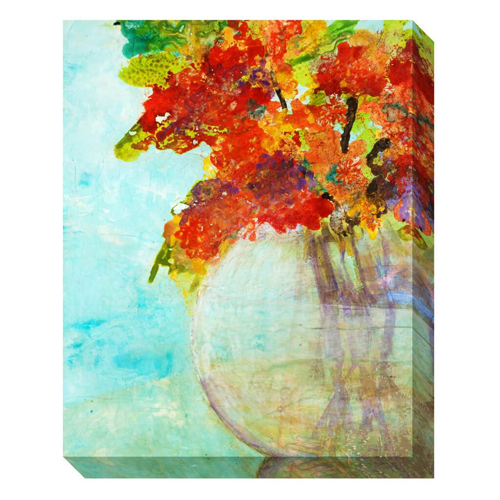 Ethereal Floral Vase Tx By Lisa T