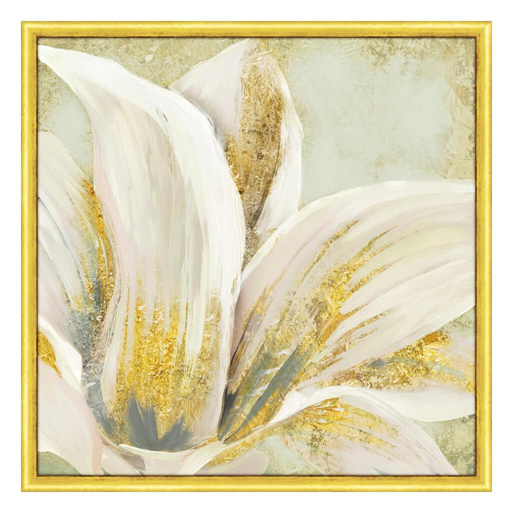 Gold Dusted Floral I Tx Gl By Allison