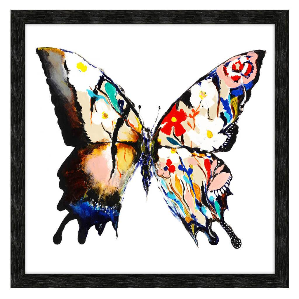 Stained Glass Butterfly H-Tx By Aziz