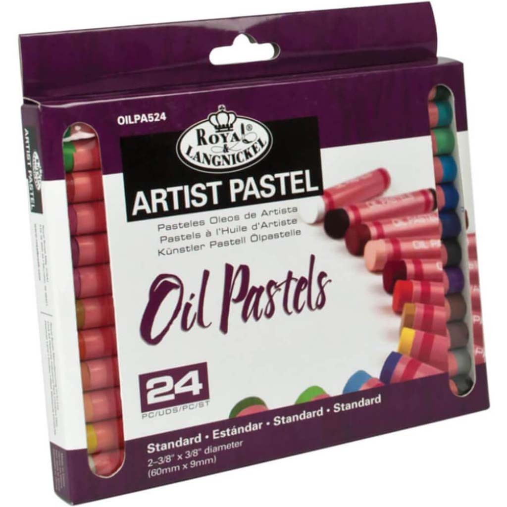 Oil Pastels Small 24pc