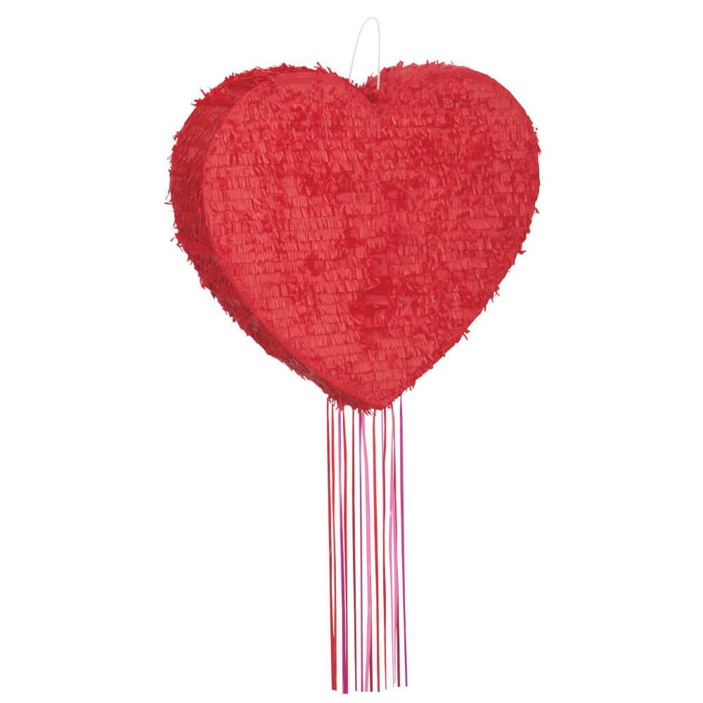 Pull Pinata, Heart Shaped