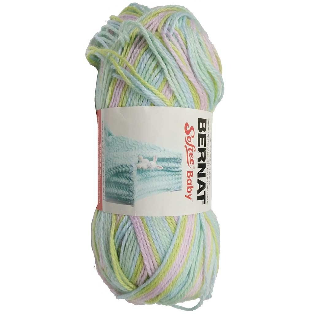 Bernat Softee Baby Yarn - Ombres Lavender Lullaby
